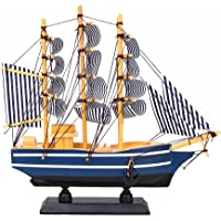 Kicode TOPmountain Estilo Mediterráneo Buque Velero Coleccionable Modelo