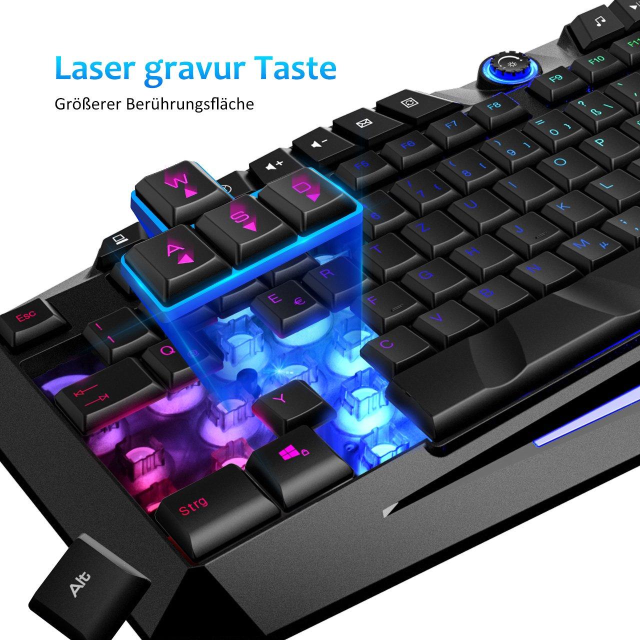 VICTSING Gaming Tastatur