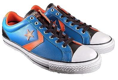 8d2421341be31f Converse Men s Star Player EV OX Mykonos Blue Skateboarding Shoes 139868C  (9 D(M