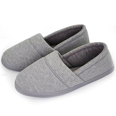 36bf0aebc9b House slippers for women memory foam lightweight anti skid comfort cotton home  shoes jpg 395x395 Home