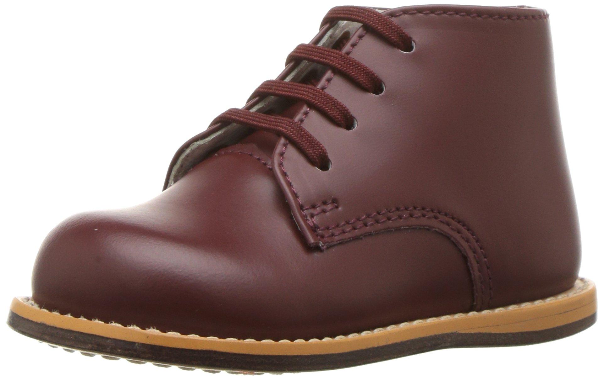 Josmo - Baby Walker Leather Dress Shoe, Burgundy 38216-7MUSToddler