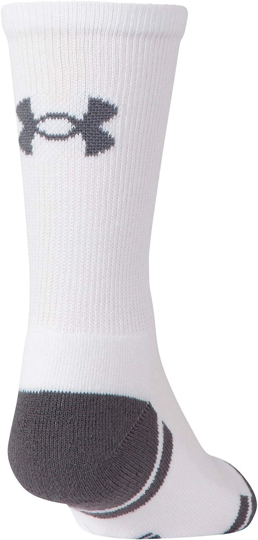 Under Armour Kids Resistor 3.0 Crew Socks 6-Pairs