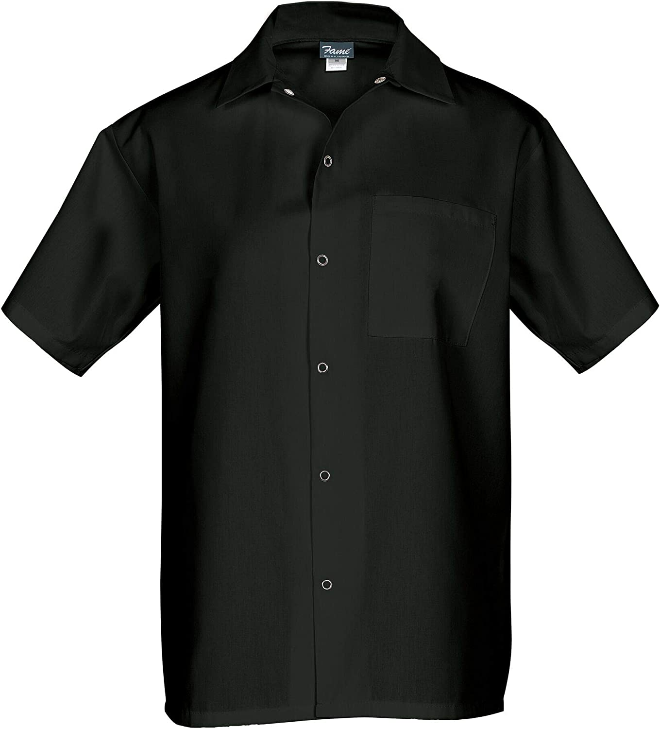 Fame Short Sleeve Cook Shirt