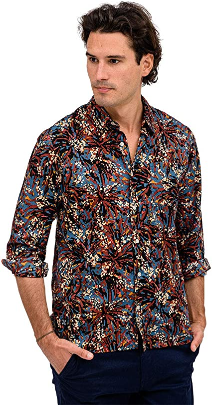 OxbOw M1colipsa Chemise Manches Courtes Homme