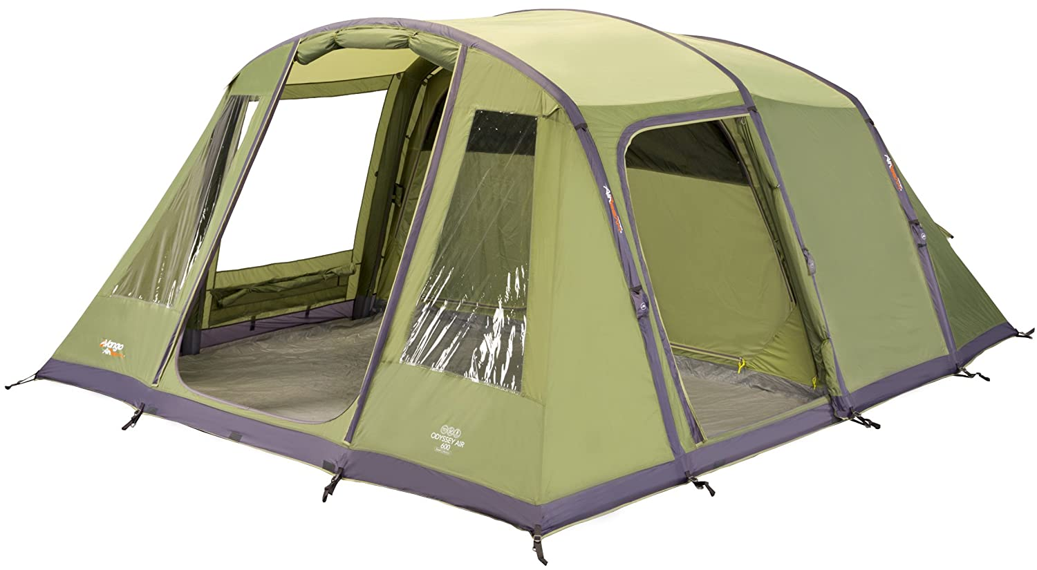 Vango Odyssey Inflatable Family Tunnel Tent Epsom Green Airbeam 600 Amazon.co.uk Sports u0026 Outdoors  sc 1 st  Amazon UK & Vango Odyssey Inflatable Family Tunnel Tent Epsom Green Airbeam ...