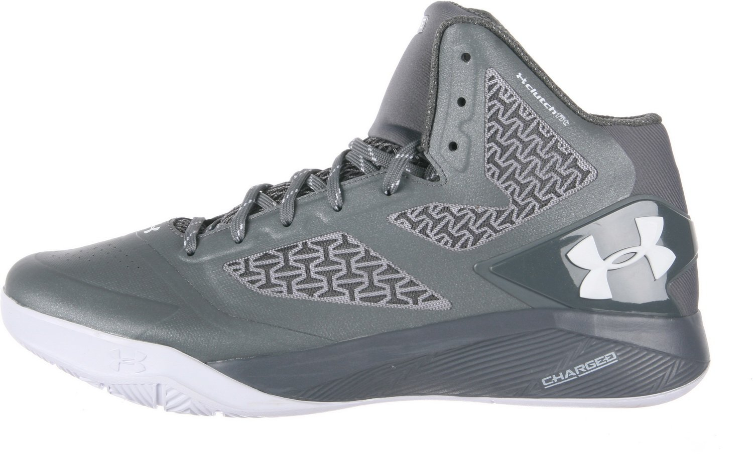 Under Armour Men's B00SLP0RX6 Ua ClutchFit Drive Ii B00SLP0RX6 Men's 5.5 D(M) US|Graphite/Metallic Silver/White 281a7d