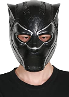 XCOSER Black Panther Mask Helmet Cosplay Accessories Latex New Version