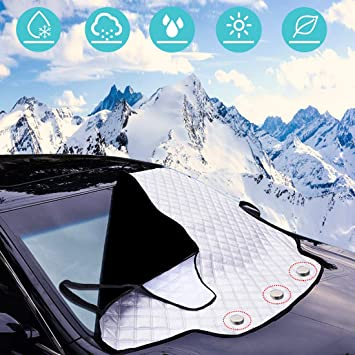 Car Protector Cover Screen Windscreen Ice Snow For Nissan Micra 5DR 1983-1993