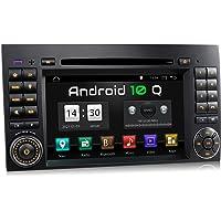 XOMAX XM-D10ZA autoradio met Android 10 geschikt voor Mercedes A-klasse W169, B-klasse W245, Vito, Viano, Sprinter W906…