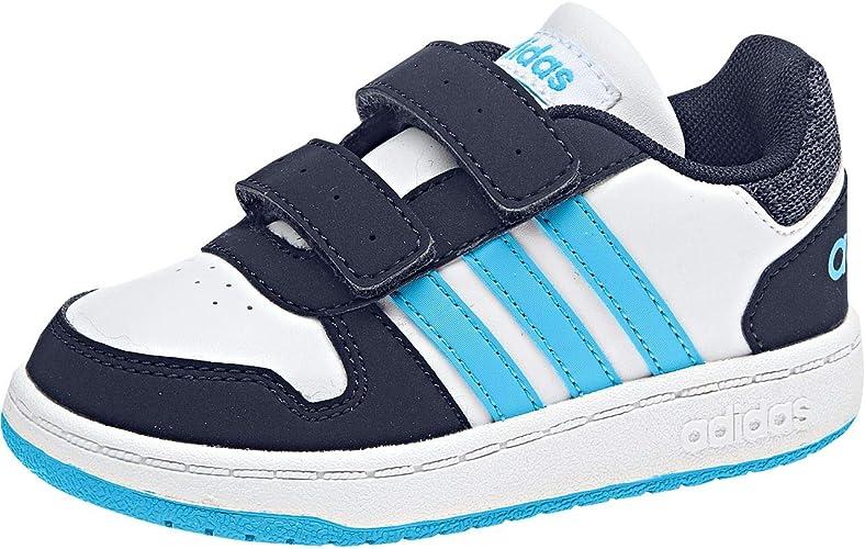 Asociación acelerador análisis  adidas Baby Hoops 2.0 CMF Low-Top Sneakers: Amazon.co.uk: Shoes & Bags
