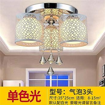 Gunxifacai Lámparas de techo LED luz minimalista circular ...