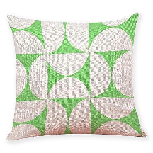 U. expec tating Almohada Decorativa de algodón 18 x 18 Stick ...