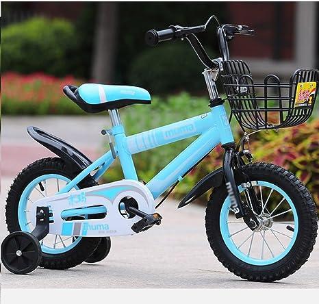Bicicleta para niños Sheng 3-8 años de Edad, Carro de bebé para niña de 12-18 Pulgadas para bebés y bebés: Amazon.es: Deportes y aire libre