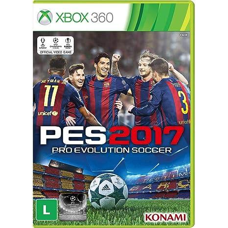ab63b83cb Jogo - PES 2017 - XBox 360  Amazon.com.br  Games