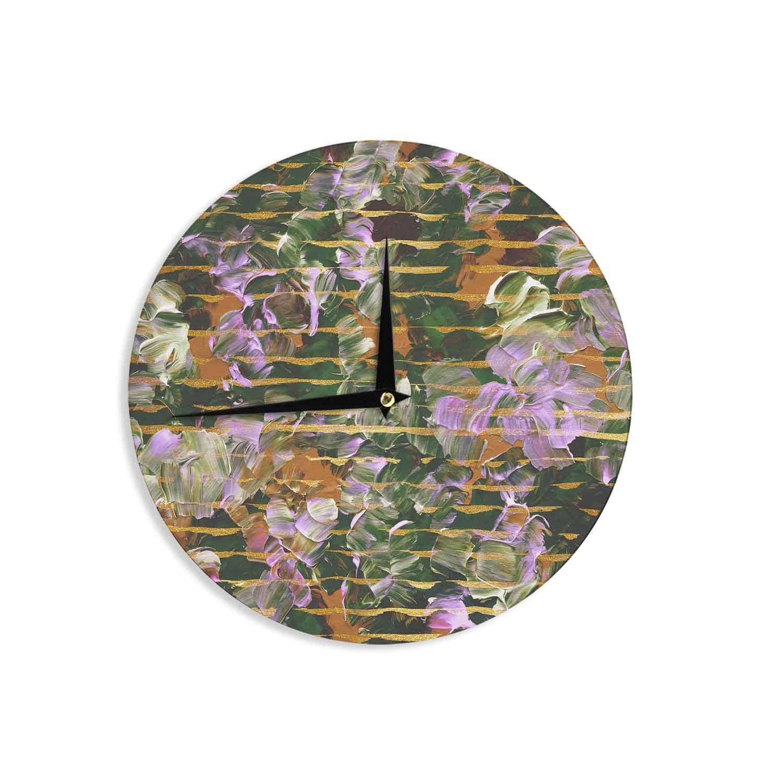 Kess InHouse JD1399ACL01 Wall Clock 12 Home & Garden Clocks ...