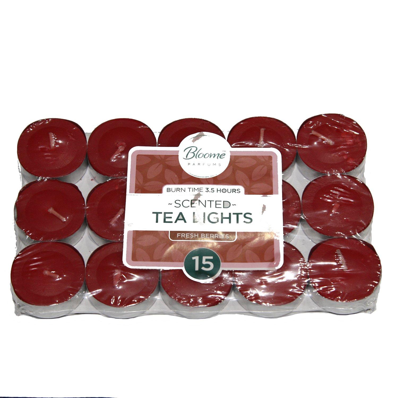 chauffe-plats parfumées Bougies Parfum lavande Pêche Vanille Baies 3,5, Fresh Berries 1Pk OTL