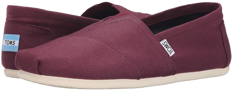d76a3775c4b Toms Classic Mahogany Red Canvas Mens Espadrilles Shoes Slipons-9   Amazon.co.uk  Shoes   Bags
