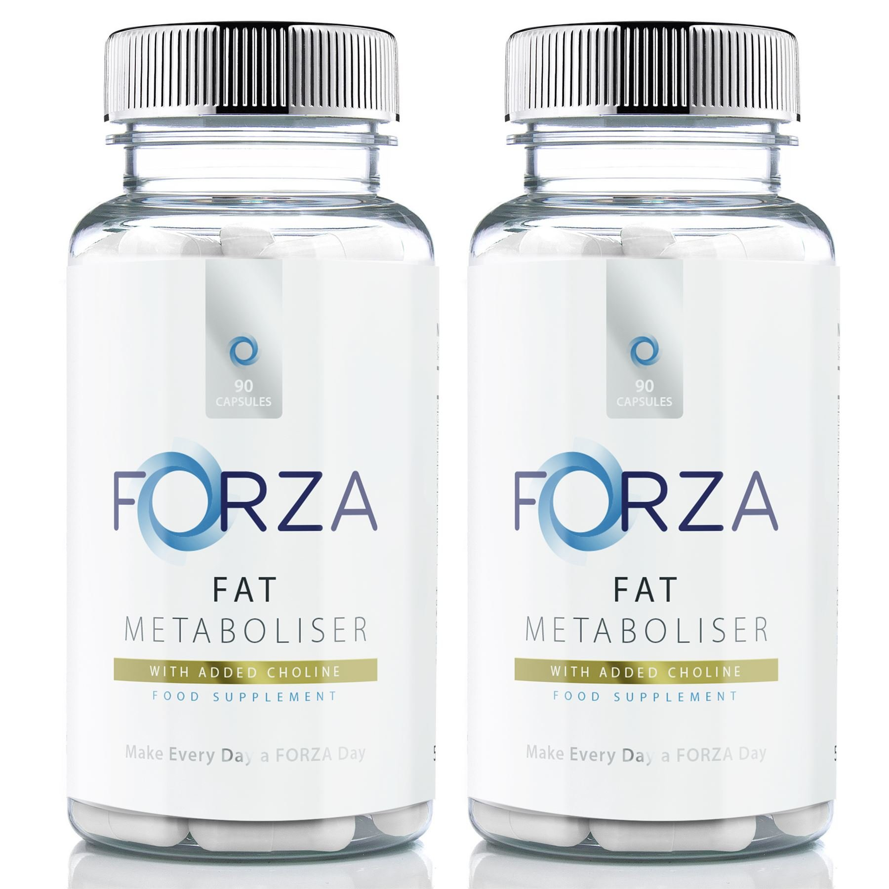 Fat Metaboliser - Slimming & Diet Pills for Weight Loss -High Strength with Choline & Zinc (180 Capsules) by Forza