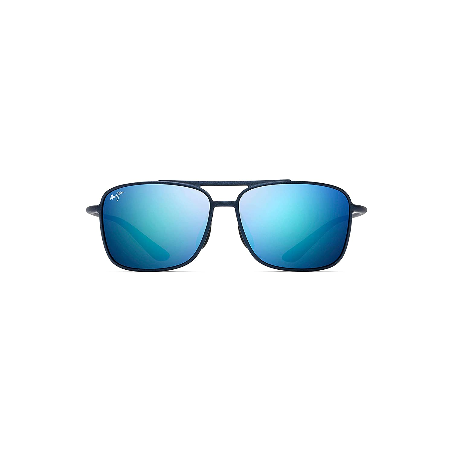 74fc4be105 Amazon.com  Maui Jim Kaupo Gap B437-03M Matte Blue Frame Blue Hawaii  Polarized Lenses  Maui Jim  Clothing