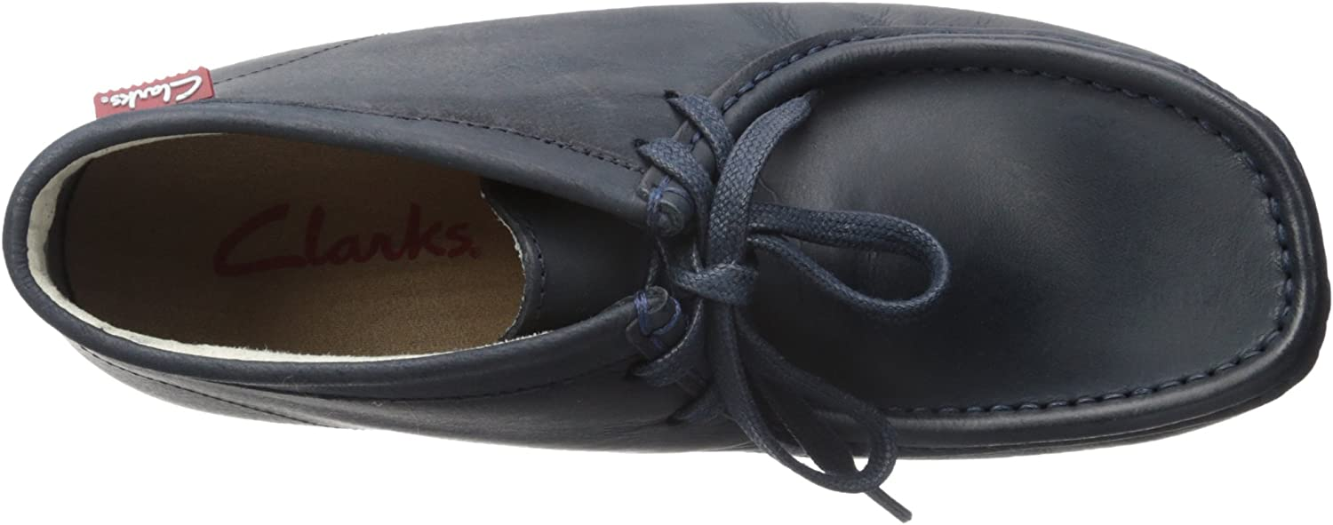 Clarks  Padmore II, bottes chelsea homme Navy Leather