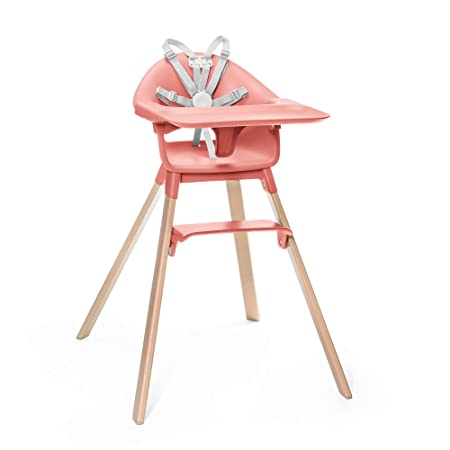 Joovy Nook plegable Trona para beb/é coral ahorra espacio f/ácil de limpiar