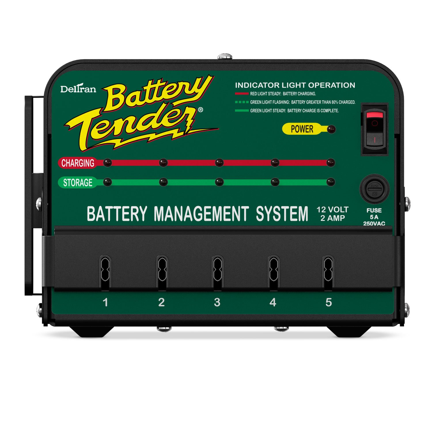 85 1010 battery charger wiring diagram on amazon com battery tender 021 0133 12v 5 bank commercial battery 12 Volts Battery Charger Circuit Diagram Battery Charger Fault Codes
