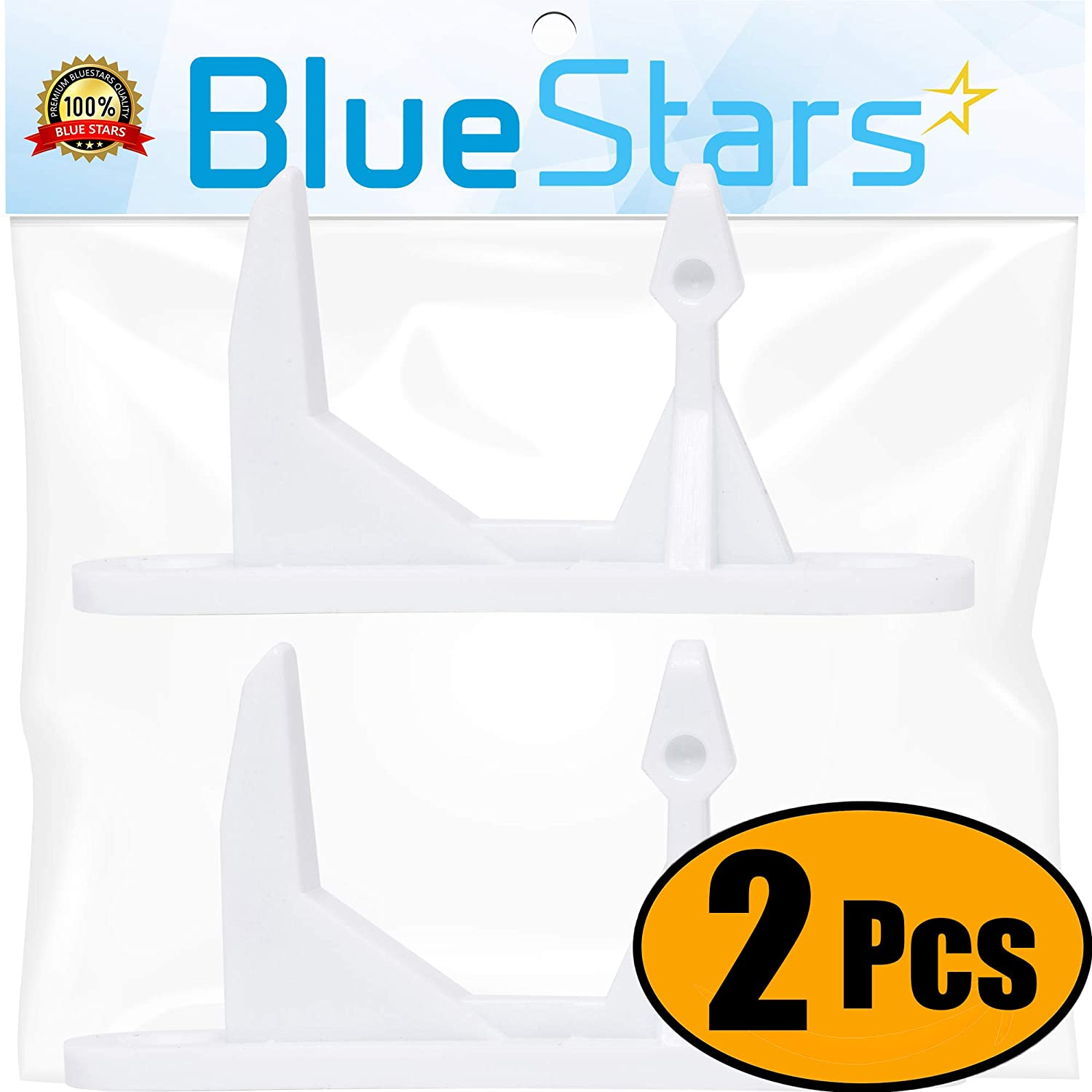 Ultra Durable 131763310 Washer Door Striker Replacement Part by Blue Stars - Exact Fit for Frigidaire & Kenmore Washer - Replaces 131763300 131763310 AP3580441 - PACK OF 2