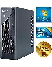 PC COMPUTER DESKTOP FISSO (Ricondizionato Garantito) FUJITSU C5731 INTEL DUAL CORE | RAM 4GB | HDD 160GB | DVD | WINDOWS 7 PROFESSIONAL INSTALLATO ED ATTIVATO CON LICENZA COA | GARANZIA 12 MESI