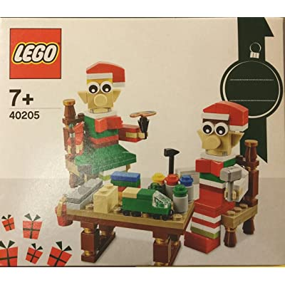 LEGO 40205 Christmas Seasonal Holiday Elves' Workshop: Toys & Games