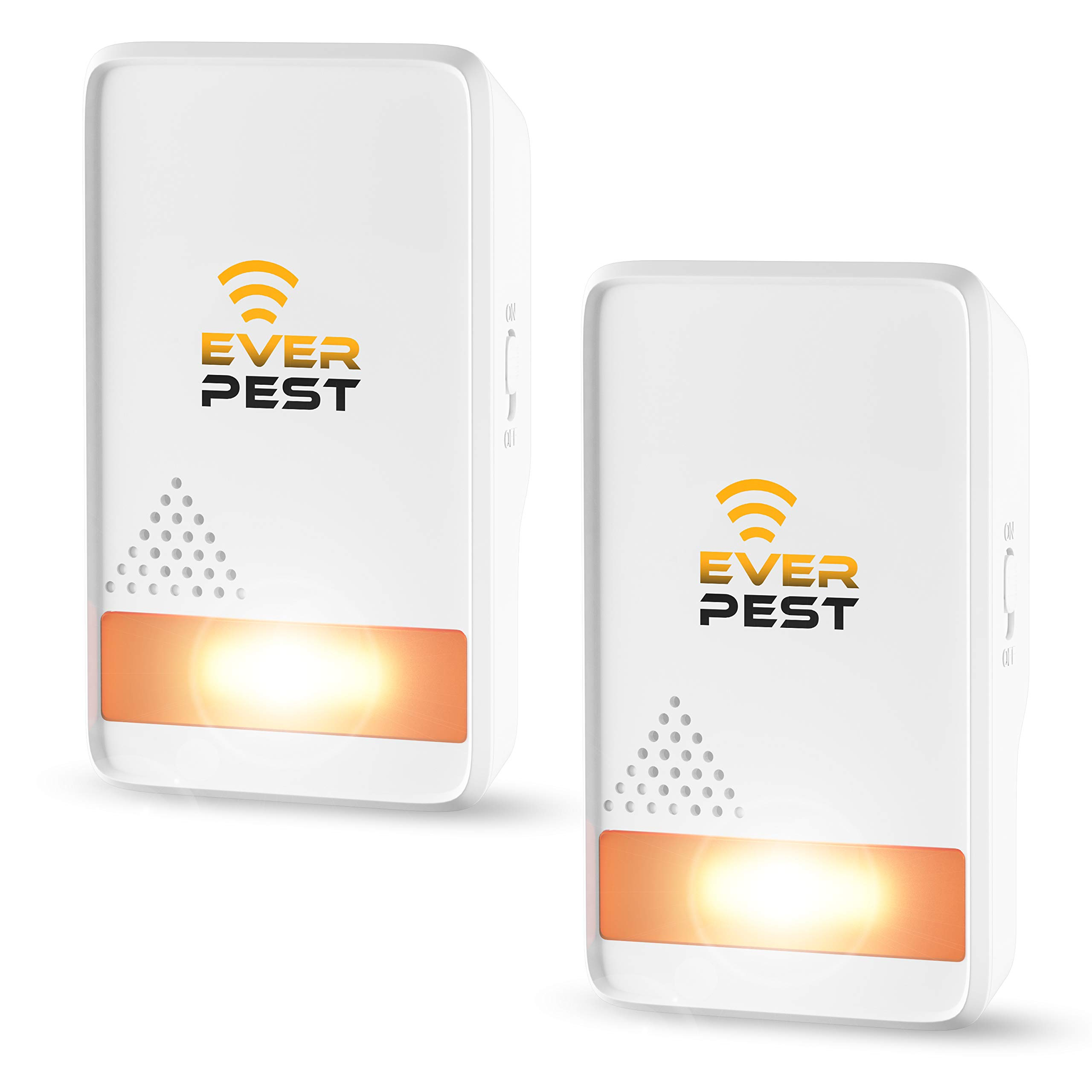 Ultrasonic Pest Repellent Control 2018 (2-Pack), Plug in Home Indoor and Outdoor Repeller, Get Rid of Mosquito, Ant, Flea, Rats, Roaches, Cockroaches, Fruit Fly, Rodent, Insect