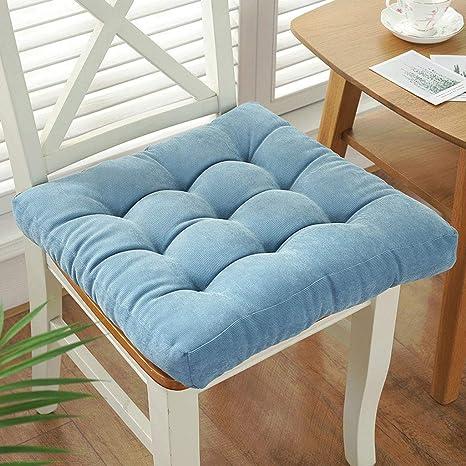 XINR Cojines para sillas para Interior y Exterior de algodón ...