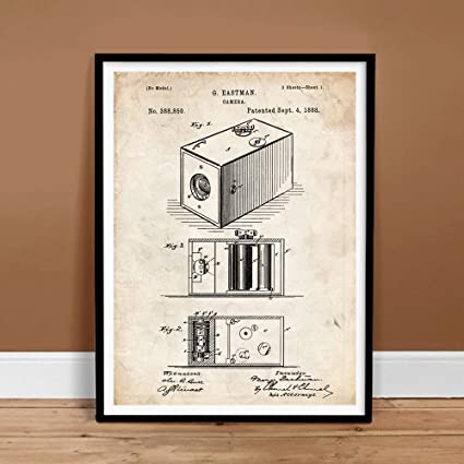 Amazon com: Steves Poster Store VINTAGE FIRST BOX CAMERA