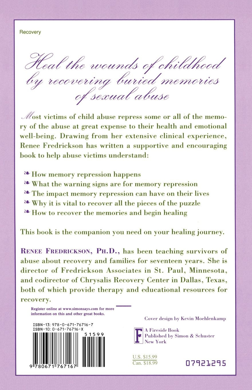 Repressed Memories: A Journey to Recovery from Sexual Abuse ...