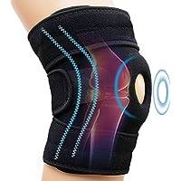 Knieondersteuning Open Patella-stabilisator, verstelbare sport-kniebrace - voor gewrichtspijn, artritis, herstel van…