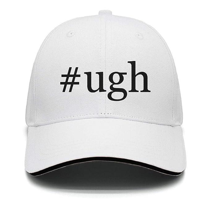 f500ca72c4e54 Fiexf Men Women Golf Hat Adjustable  Ugh Black Letter Printing at ...