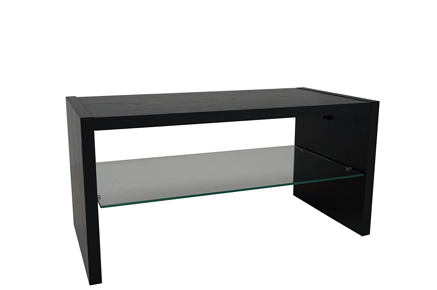 Madison black ash effect coffee table amazon kitchen home geotapseo Image collections