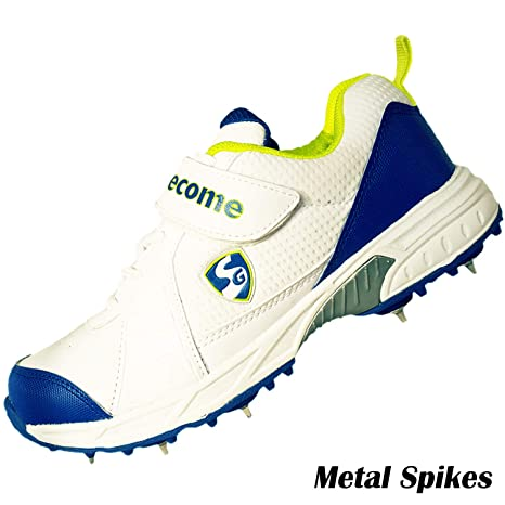 SG SVG Cricket Full Metal Spikes Shoes