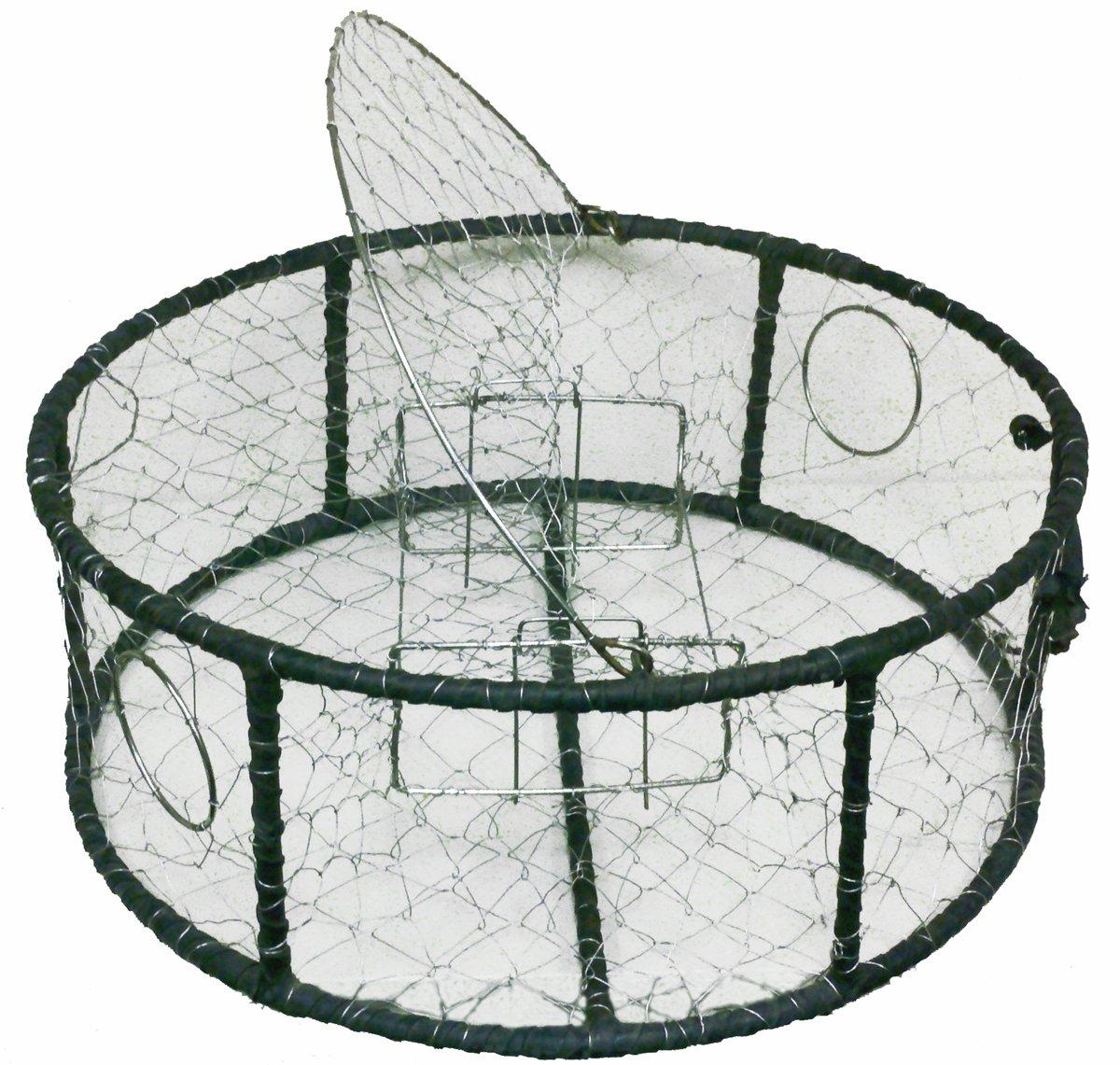 Promar Stainless Steel Mesh Crab Pot Rubber Wrap Rebar