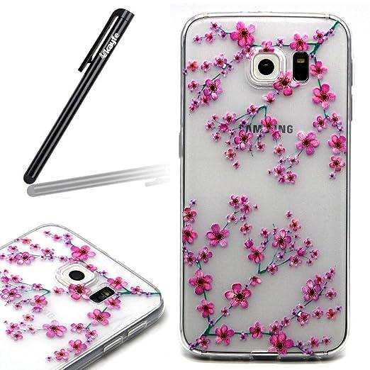6 opinioni per Ukayfe Custodia per Samsung Galaxy S6 Edge, UltraSlim TPU Case per Samsung