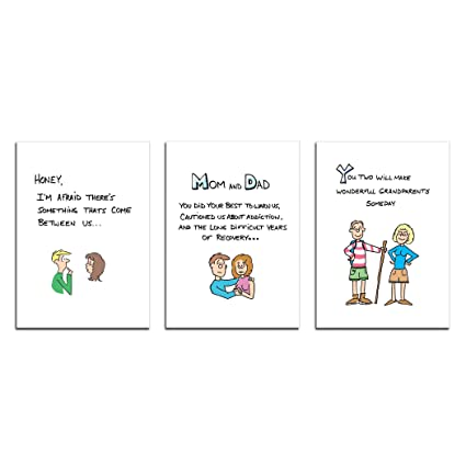 amazon com dad s castle pregnancy announcement cards father and