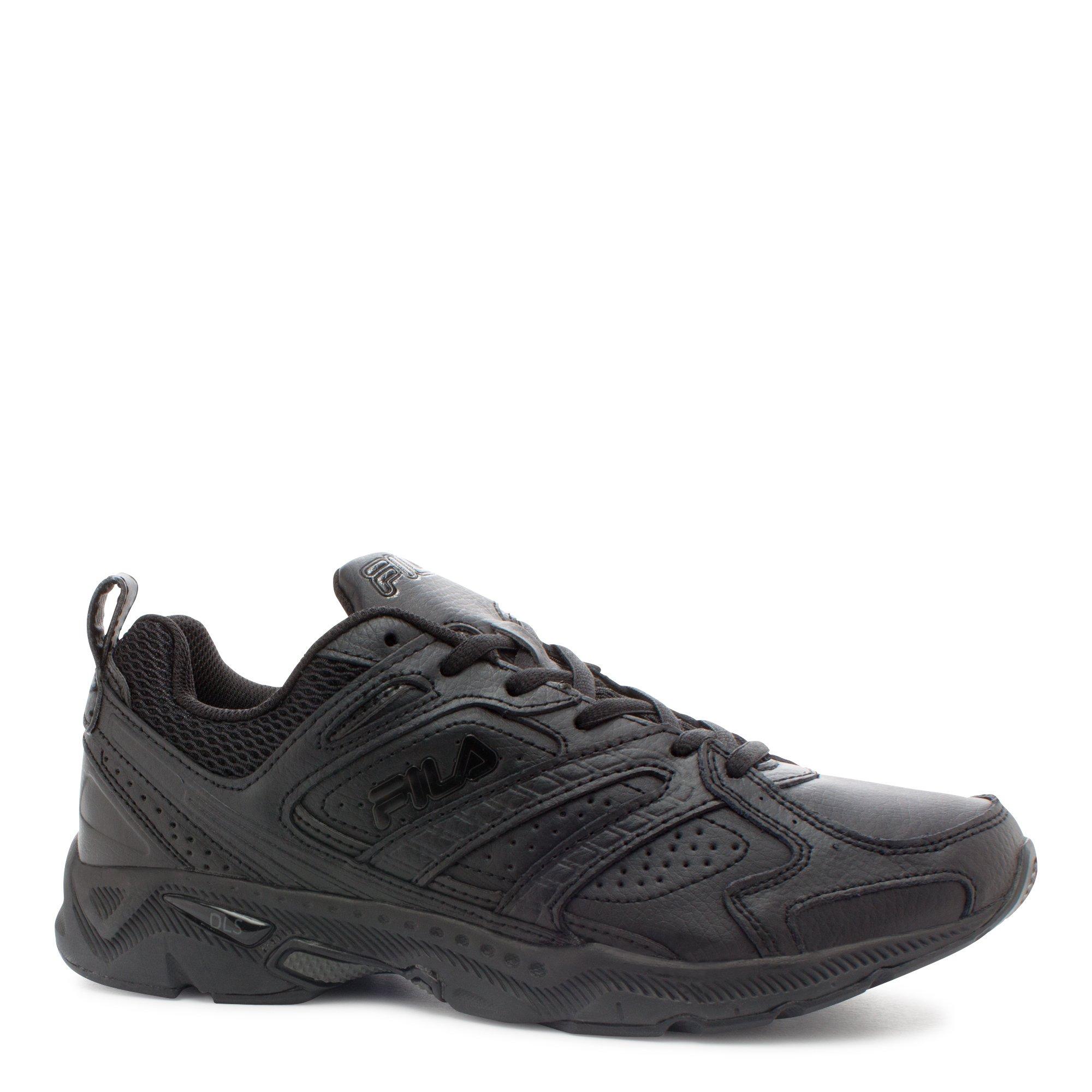Fila Men's Capture Running Shoe,Triple Black,10 M US