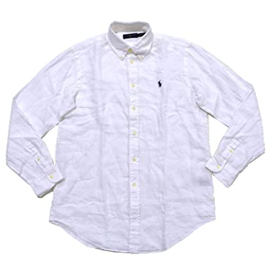 8f504d6e96 Polo Ralph Lauren Men s Long Sleeve Linen Button Down Shirt at Amazon Men s  Clothing store