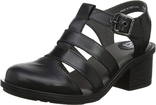 TALLA 37 EU. Fly London Cahy195fly, Zapatos de tacón con Punta Cerrada para Mujer
