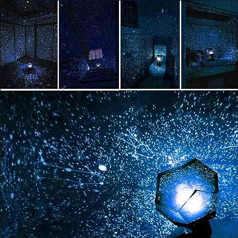Led luz de la Noche Astro Sky Proyector Cosmos Star Galaxy Master ...