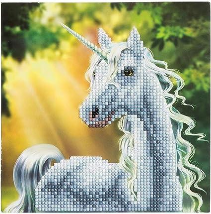 Craft Buddy Crystal Card Making Kit  Sunshine Unicorn