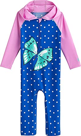 Sun Protective Coolibar UPF 50 Baby Wave One-Piece Swimsuit