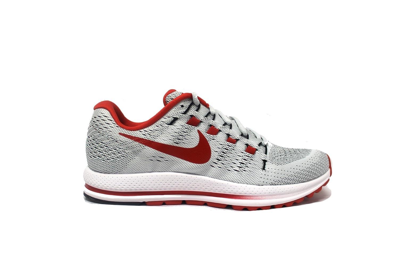 NIKE Men's Air Zoom Vomero 12 Running Shoe B072QCZJGW 8.5 D(M) US|Pure Platinum/University Red/White