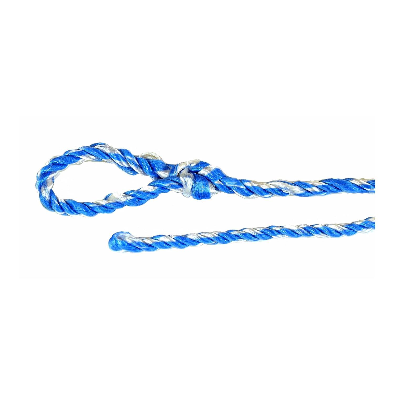 8mm Stark Gerüststrick 10-er Pack blau-weiß 2,5 m