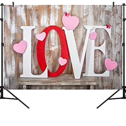 Amazon Com Ouyida 7x5ft Valentine S Day Theme Pictorial Cloth
