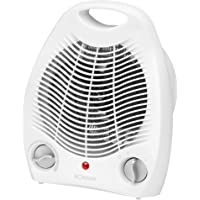 Bomann HL 1096 CB Calefactor, 2 niveles de temperatura, función ventilador, 2000 W,…